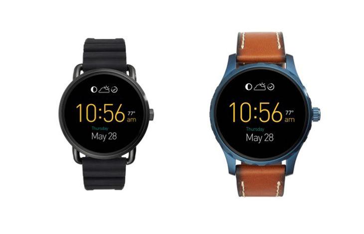 Fossil Q Wander et Q Marshal, déjà une nouvelle génération de montres Android Wear