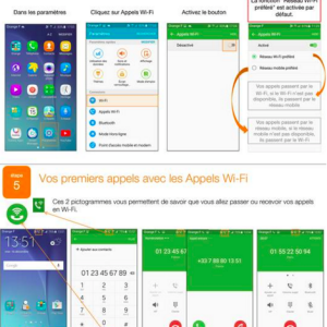 Orange teste la VoWiFi en France sur le Galaxy S6 de Samsung