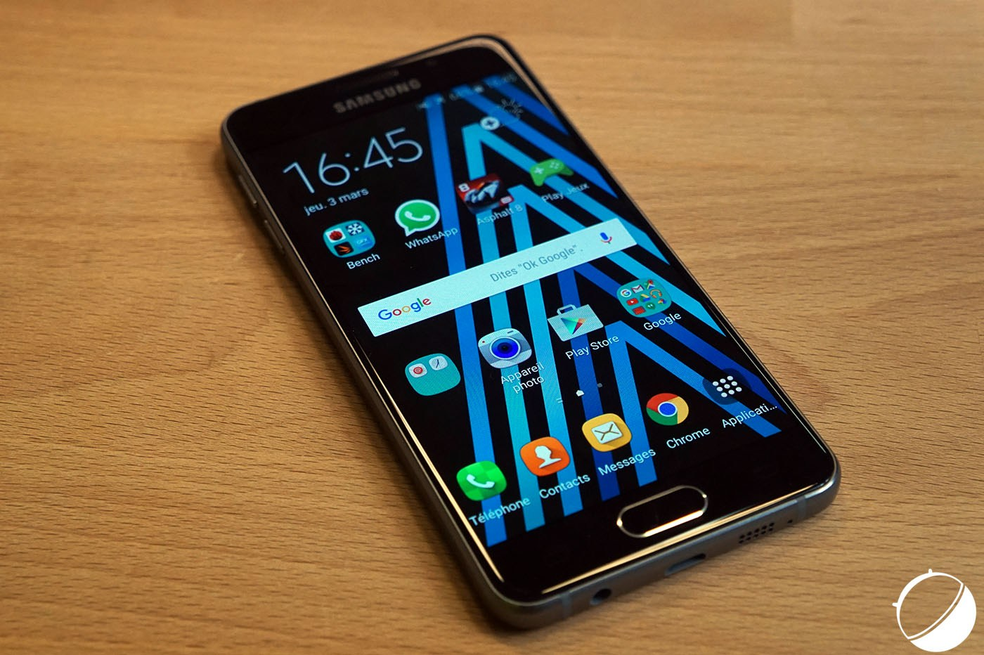 Et maintenant un Samsung Galaxy A4 (2016) ?
