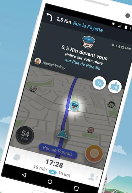 Quatre mois après sa version iOS, Waze 4.0 pour Android est enfin là