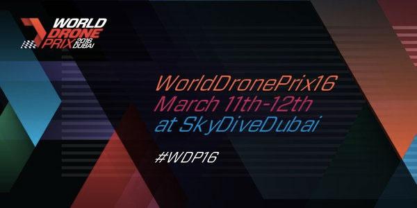 Le premier Grand Prix de drones aura lieu à Dubaï