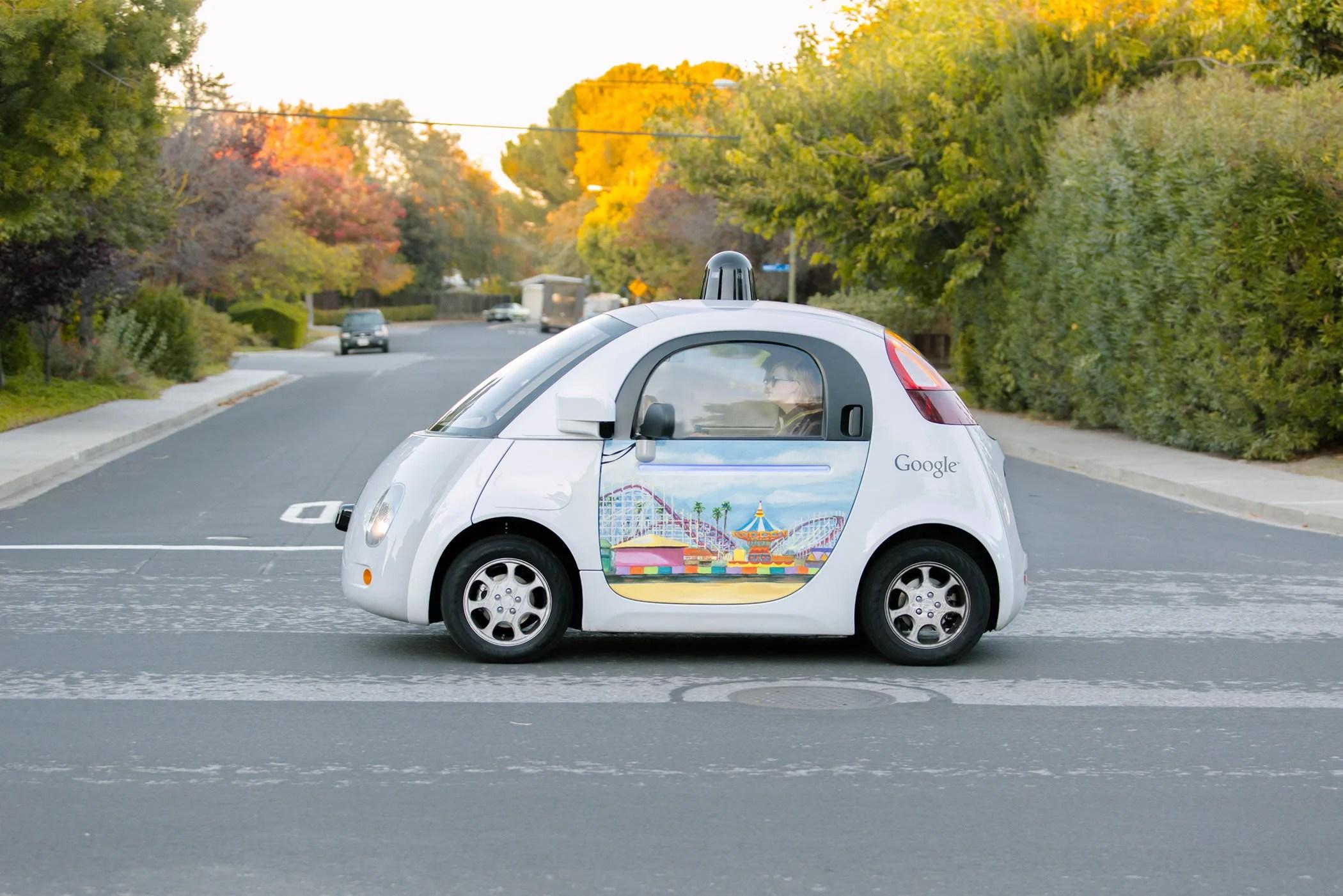 Les Google Car klaxonnent toutes seules pour éviter les accidents