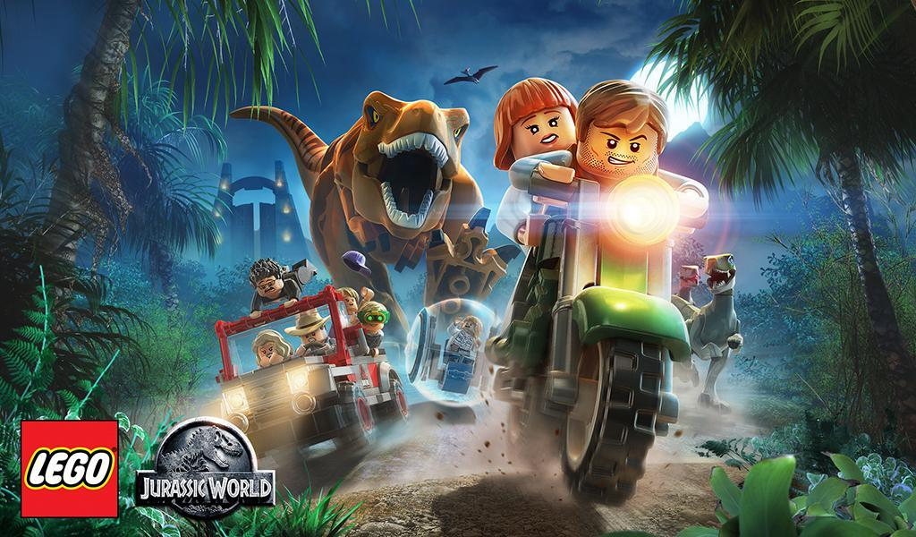 LEGO Jurassic World : les dinos s'invitent sur Android