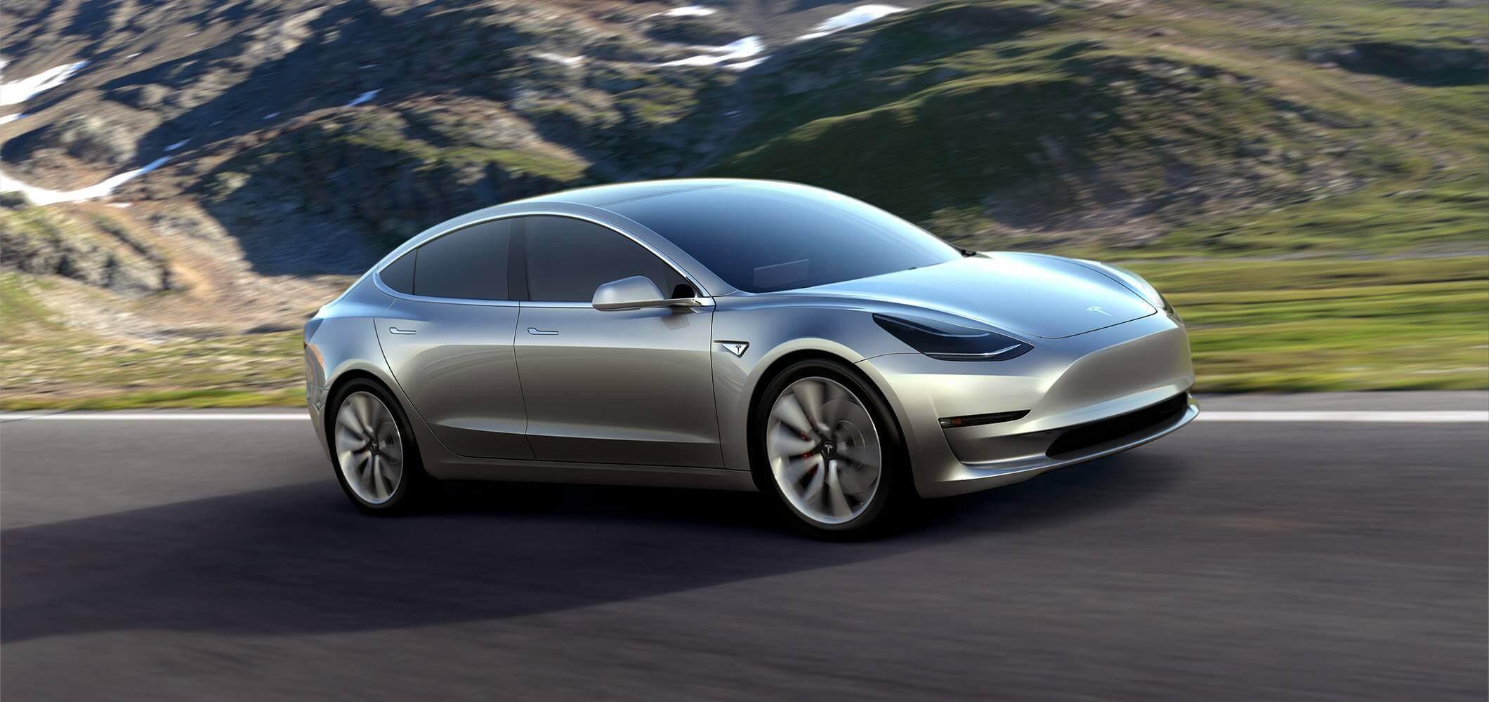 La Tesla Model 3 est plus longue que prévu