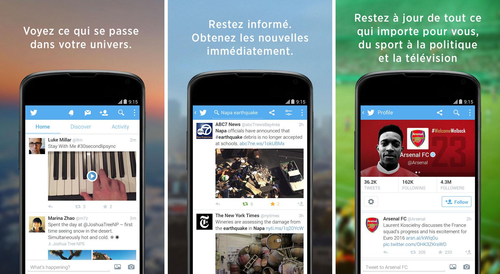 6 clients Twitter à essayer sur Android