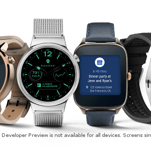 Android Wear 2.0 Developer Preview disponible sur certaines montres