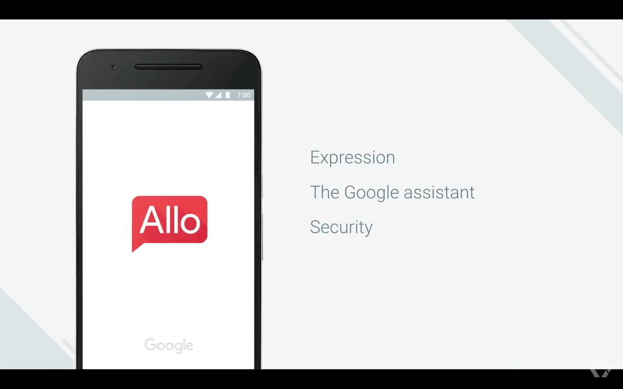Allo, une nouvelle application de messagerie basée sur l'intelligence de Google Assistant