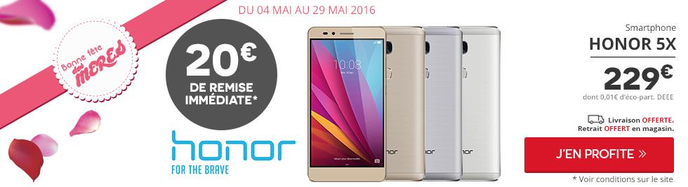 🔥 Bon Plan : le Honor 5X à seulement 179 euros après remboursement