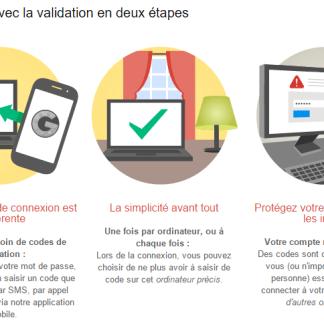 Tuto : Comment activer la validation en deux étapes sur son compte Google ?