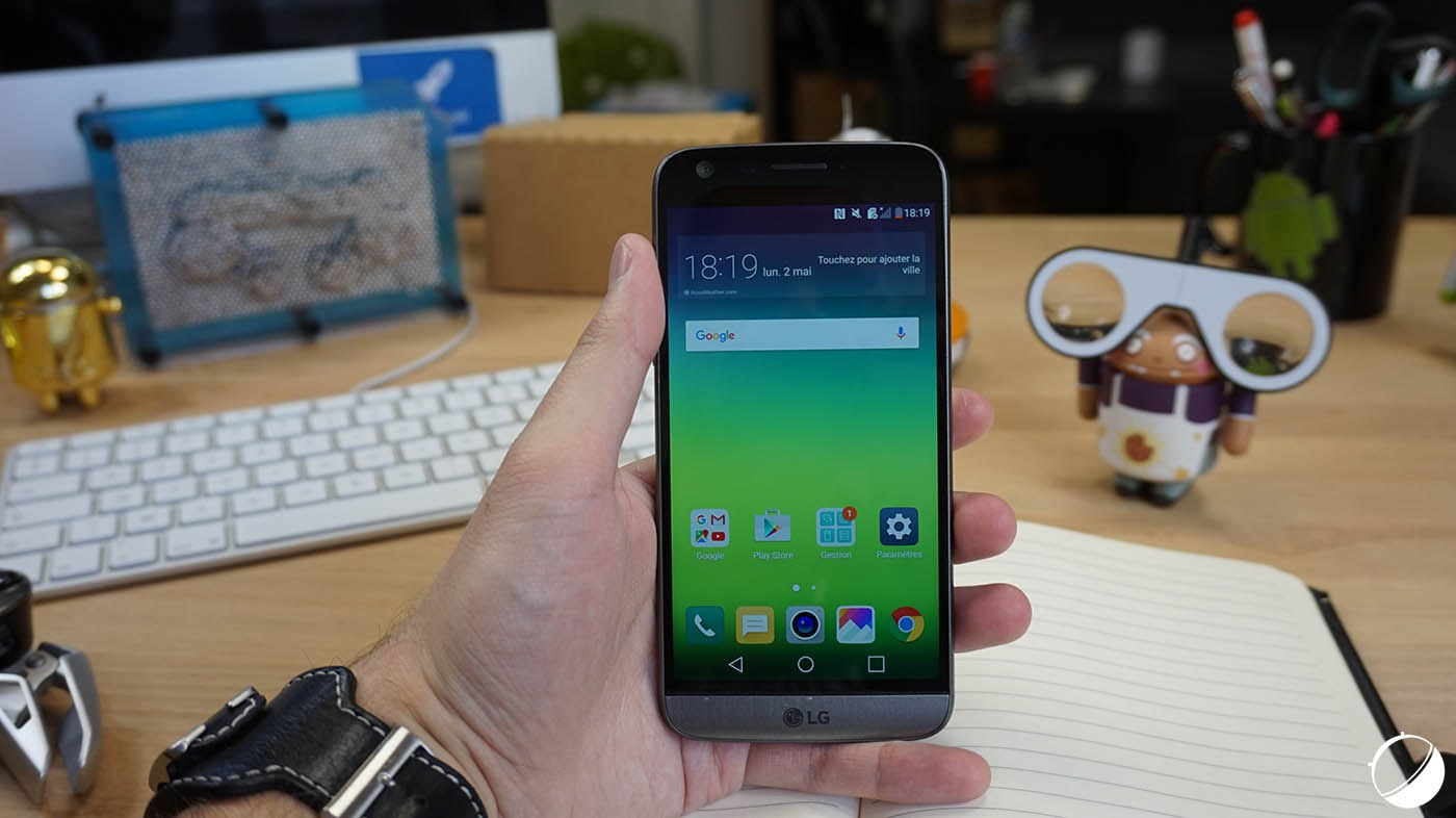 LG dévoile un nouveau capteur d'iris pour le G6