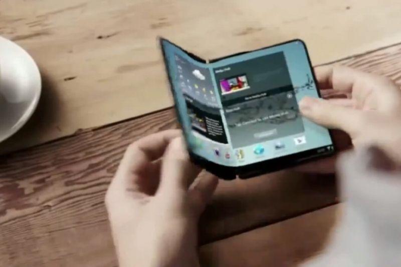 Samsung confirme sa volonté de sortir un smartphone pliable en 2018