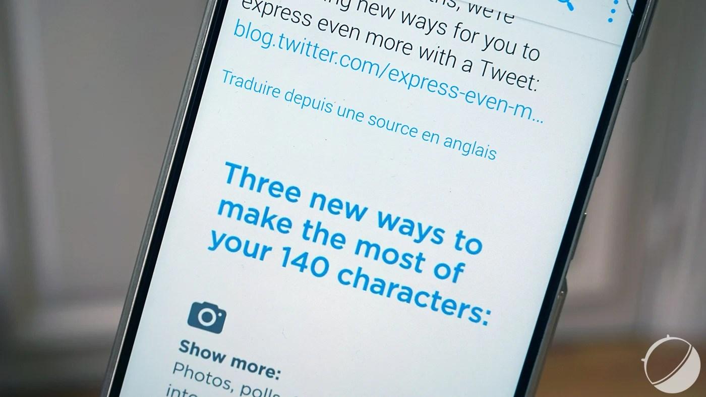 Twitter est-il en train de renier sa limite des 140 caractères?