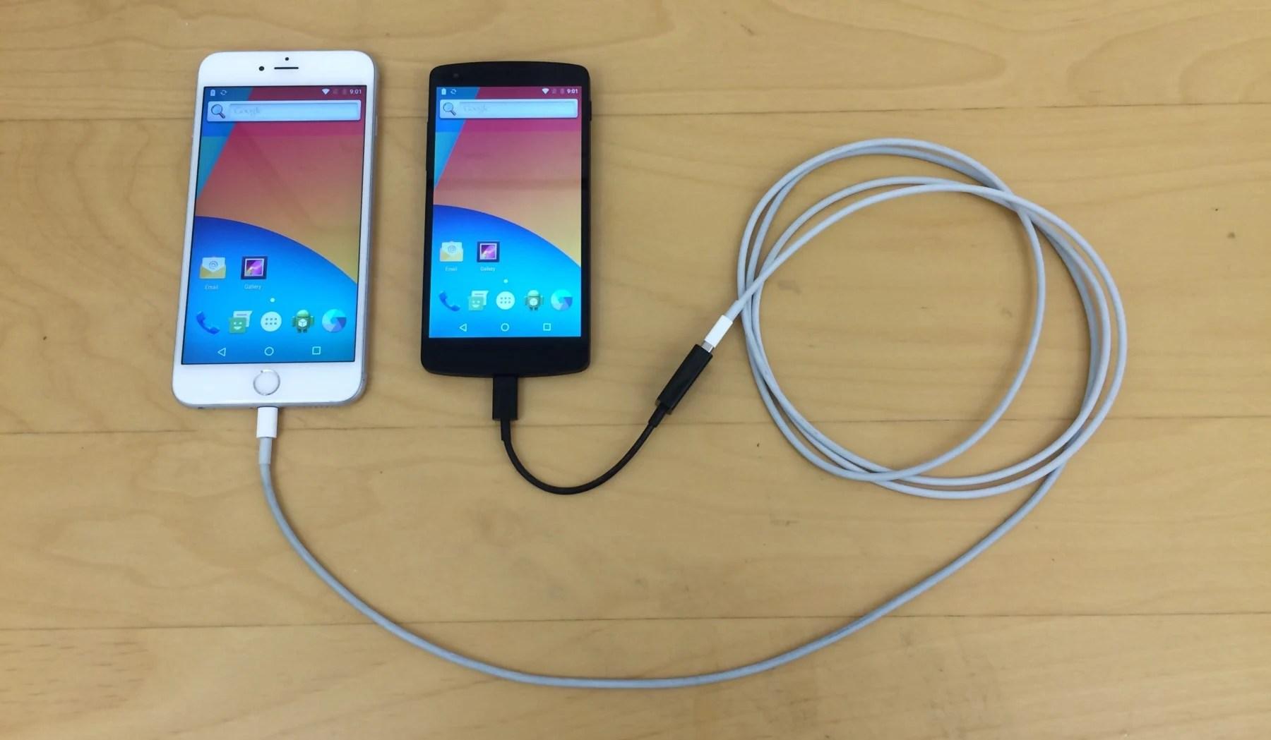 Une imprimante 3D, une application et voilà Android qui tourne sur un iPhone6