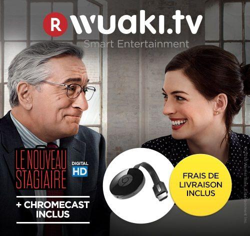 🔥 Soldes : Le Chromecast 2 à 23 euros avec le film Le Nouveau stagiaire