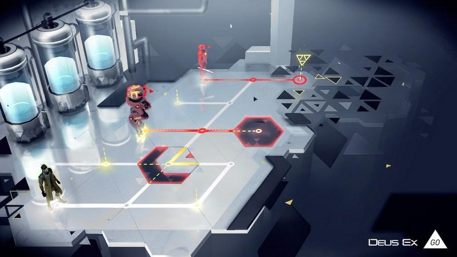 Deus Ex GO : Square Enix décline son jeu de plateau mobile à la sauce Adam Jensen