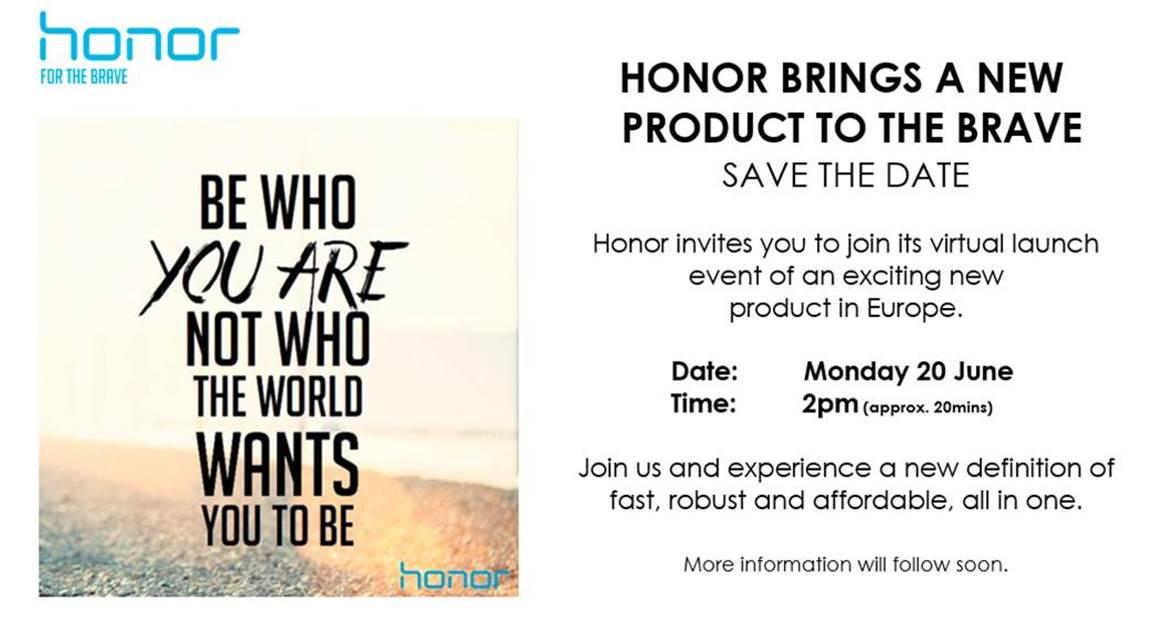 Honor 8 : un évènement virtuel pour la fin du mois