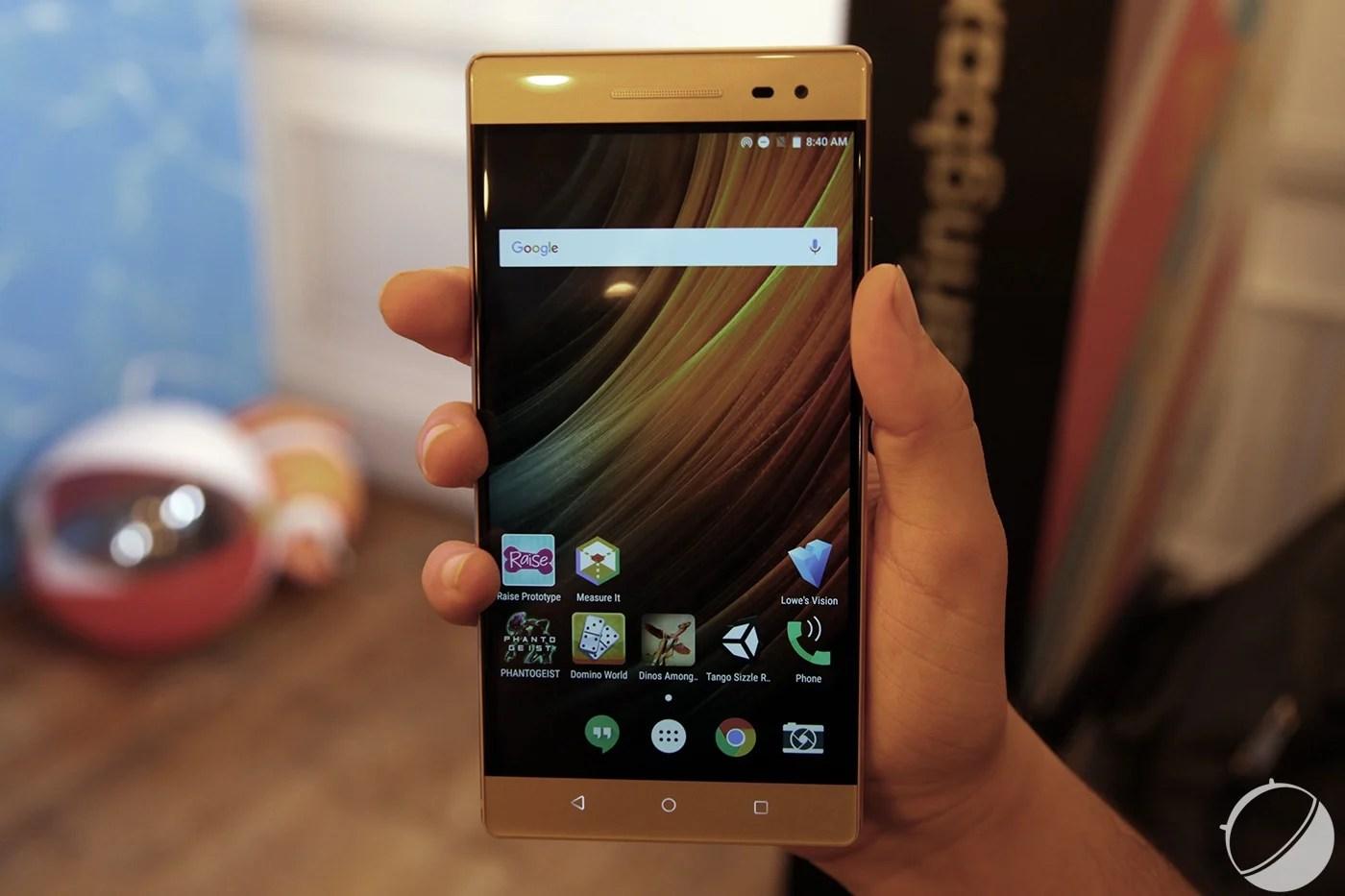 Phab2 Pro : Lenovo commercialisera bel et bien son smartphone Tango en France