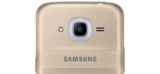 Voici le GalaxyJ2, le premier téléphone de Samsung à bénéficier de Smart Glow