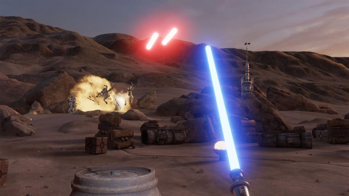 Trials on Tatooine : les sabres laser sont de sortie sur HTC Vive