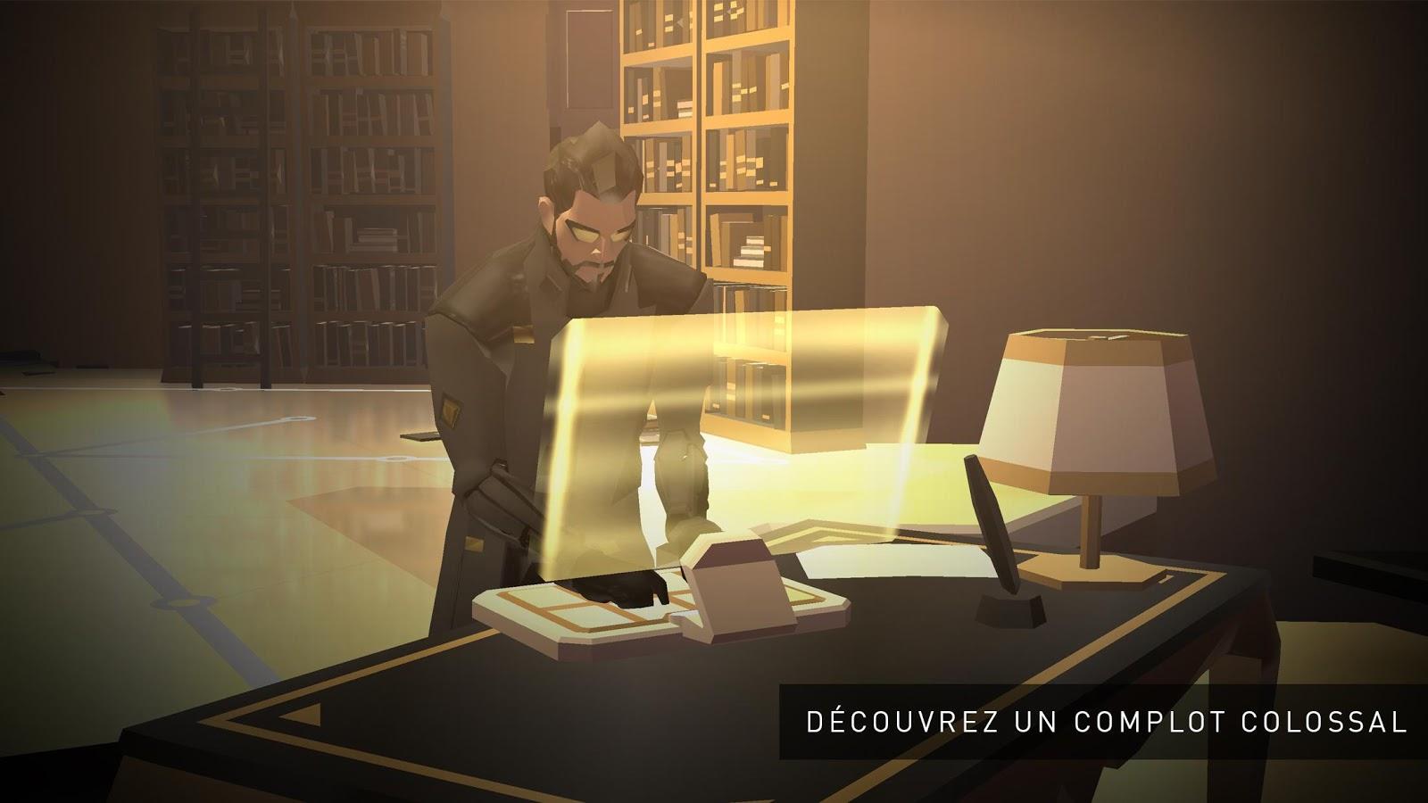 Deus Ex GO : le transhumanisme arrive sur le Play Store