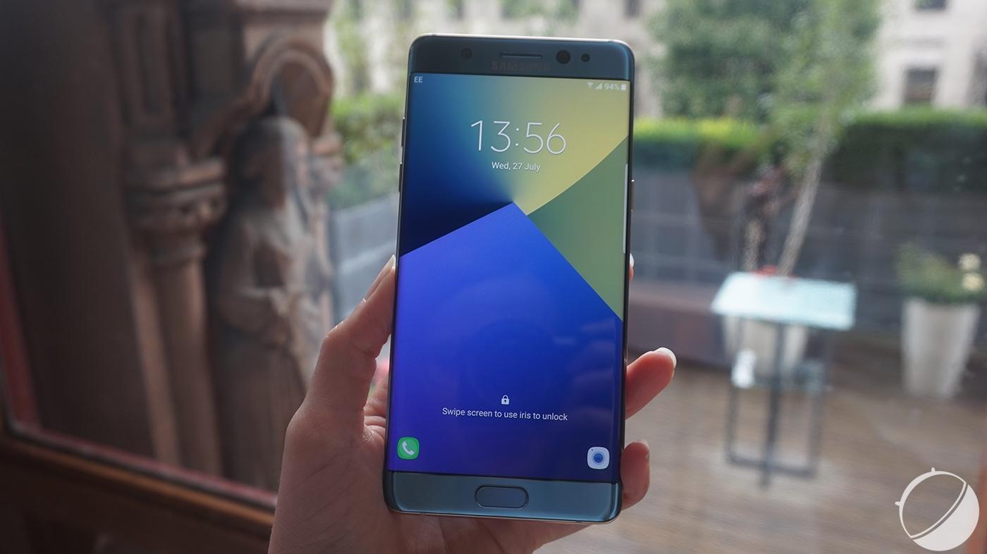 Samsung Galaxy Note 7 : tout ce qu'il faut savoir