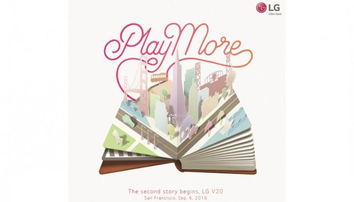 LG V20 : il sera présenté le 6 septembre à San Francisco