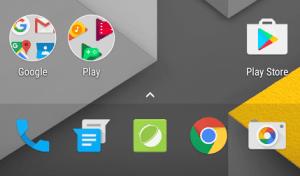 À quoi ressemble le Nexus Launcher, le futur lanceur d'applications de Google ?