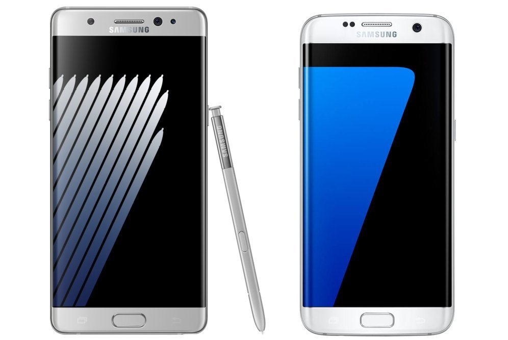 Samsung Galaxy Note 7 : qu'a-t-il de plus que le Galaxy S7 edge ?