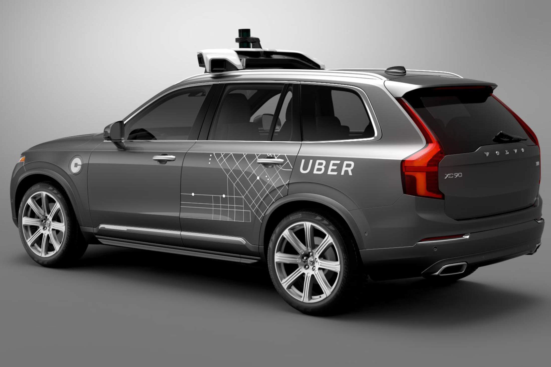 Dans un mois, Uber va utiliser des voitures autonomes à Pittsburgh
