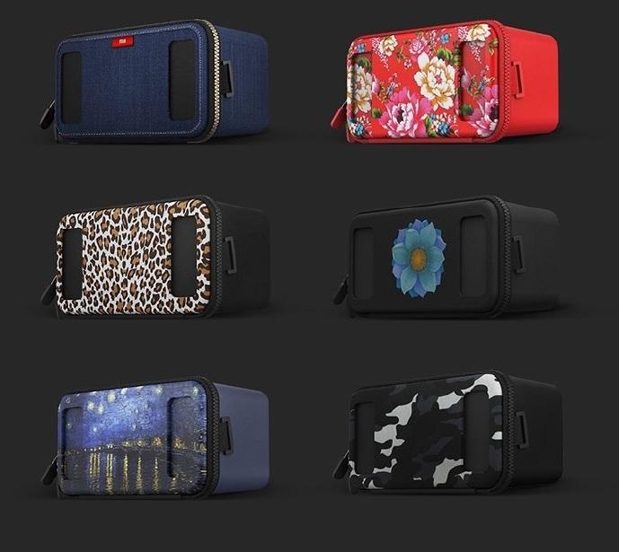 Xiaomi Mi VR Play : un cardboard en Lycra avec une fermeture éclair