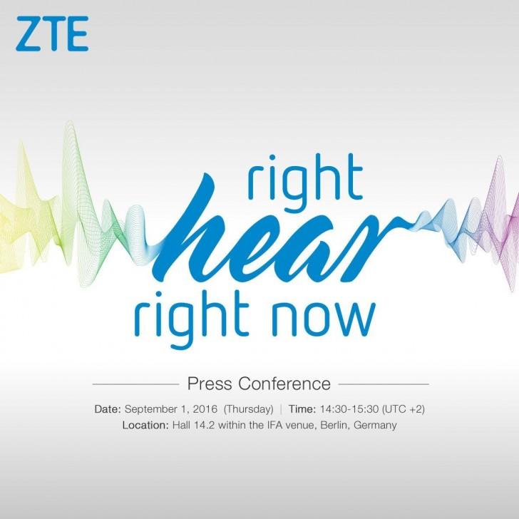 À l'IFA, ZTE annoncera un nouveau téléphone misant sur l'audio