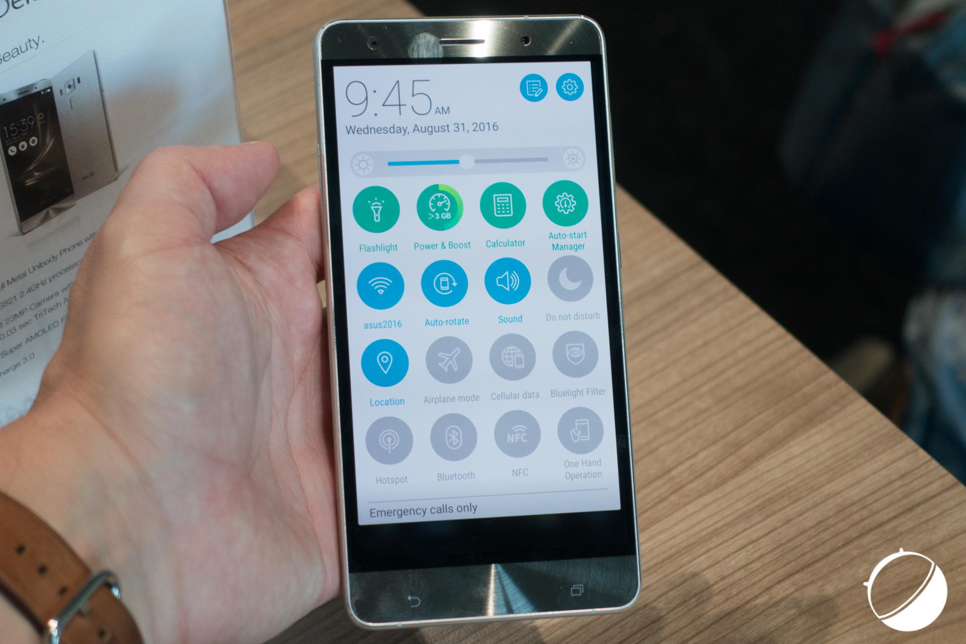 L'Asus ZenFone 4 sortira au mois de septembre en Europe