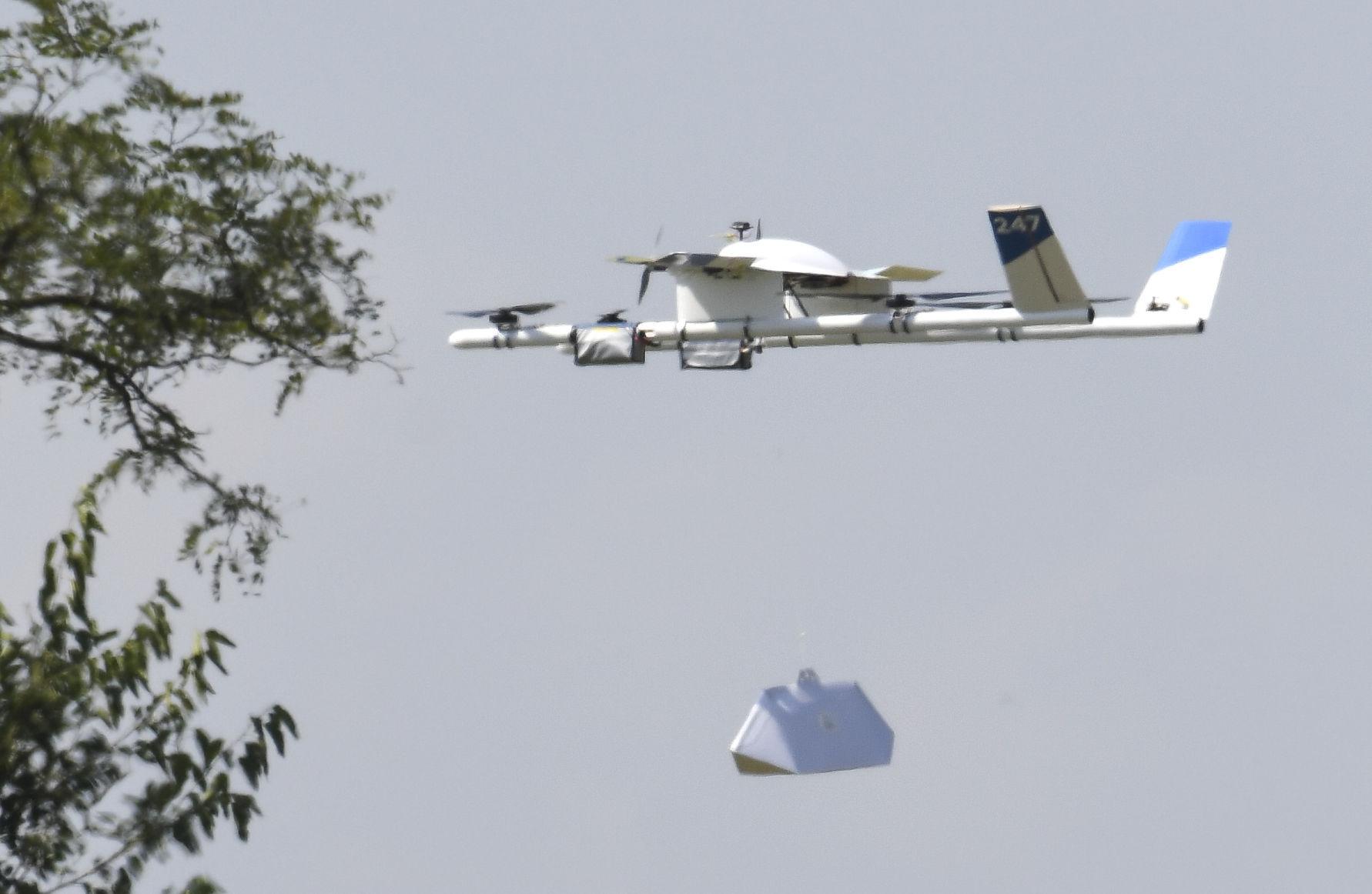 Aux Etats-Unis, il est possible de se faire livrer des burritos par drone