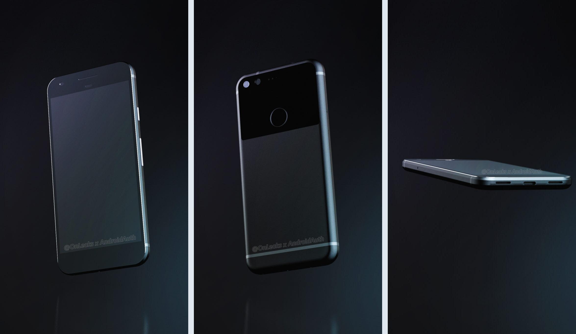 Google Pixel : un rendu 3D, un prix et des specs pour le prochain Nexus