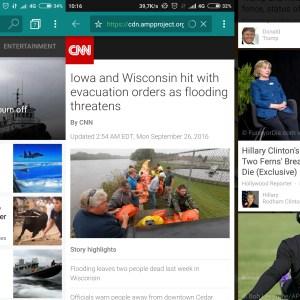 L'application Bing de Microsoft rejoint le projet Google AMP