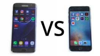 Comparatif : le Samsung Galaxy S7 est toujours le meilleur concurrent de l'iPhone 7