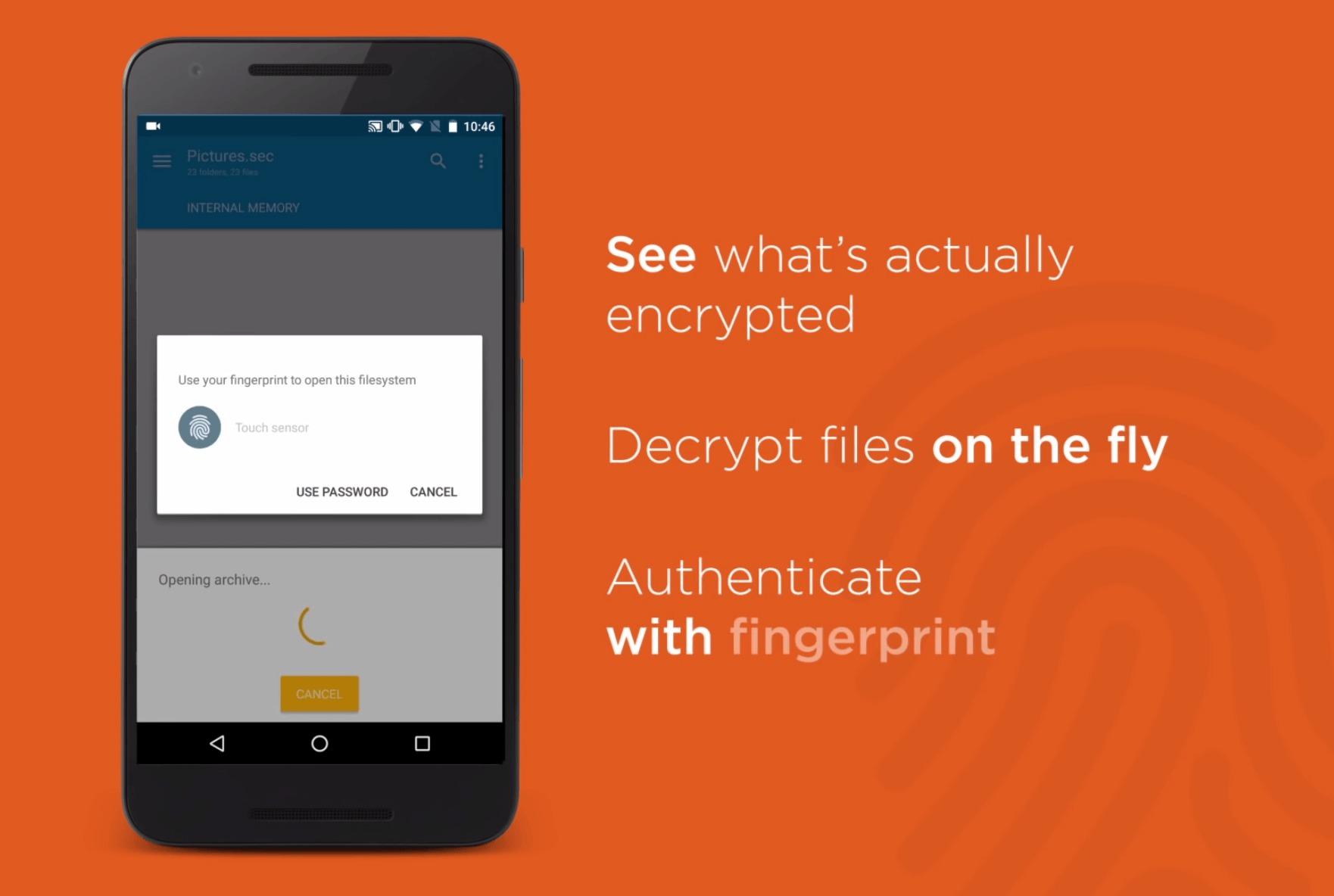 Solid Explorer 2.2 apporte le chiffrement, la lecture d'empreinte et le multi-fenêtres