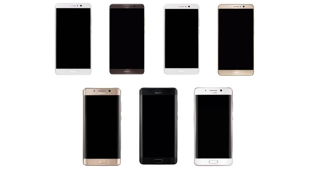 Mate 9 : Huawei prévoit une version incurvée, à la edge
