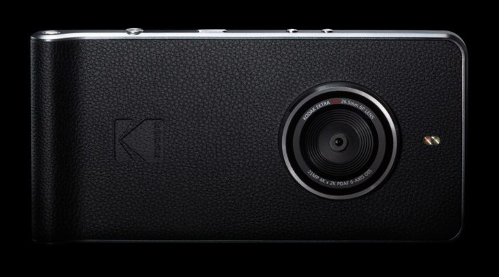 Kodak Ektra : un smartphone pensé avant tout pour la photo