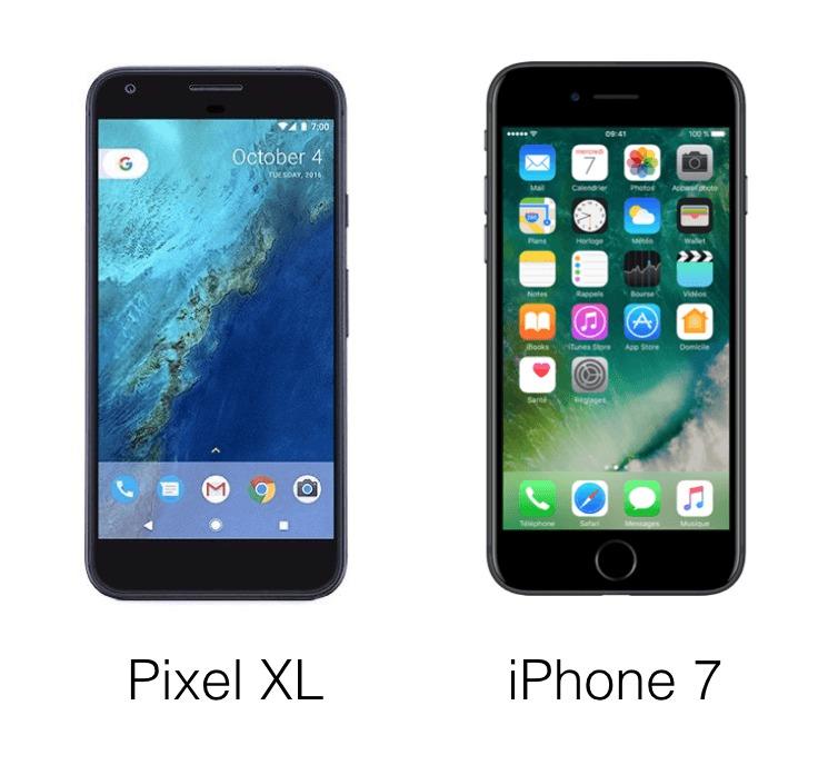 Google Pixel : ressemble t-il vraiment à un iPhone ?