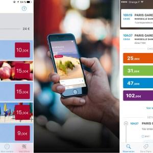 Voyages-sncf, une application qui était basée sur… Android 2.0
