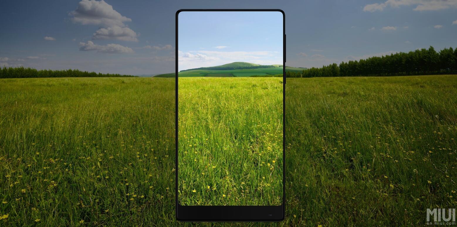 Xiaomi présente l'impressionnant Mi MIX sans bordures, conçu par Philippe Starck