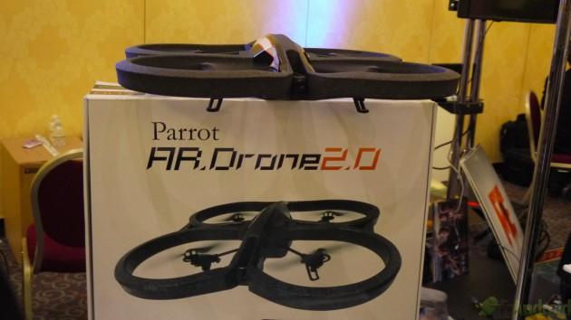 CES 2012 : Parrot présente son AR.Drone 2.0