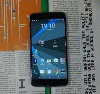 Test du Blackberry DTEK60, la sécurité avant tout