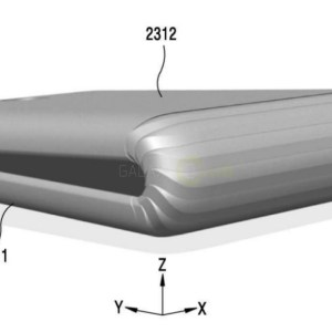 Le Samsung Galaxy X pliable se dévoile grâce à de nouveaux brevets