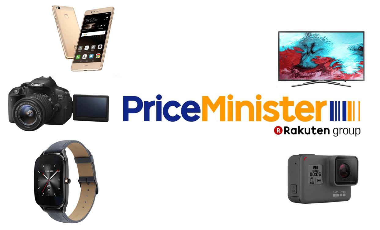 5 meilleures offres de Priceminister du Black Friday : Huawei P9 Lite, GoPro Hero5, Canon EOS 700D et Asus ZenWatch 2