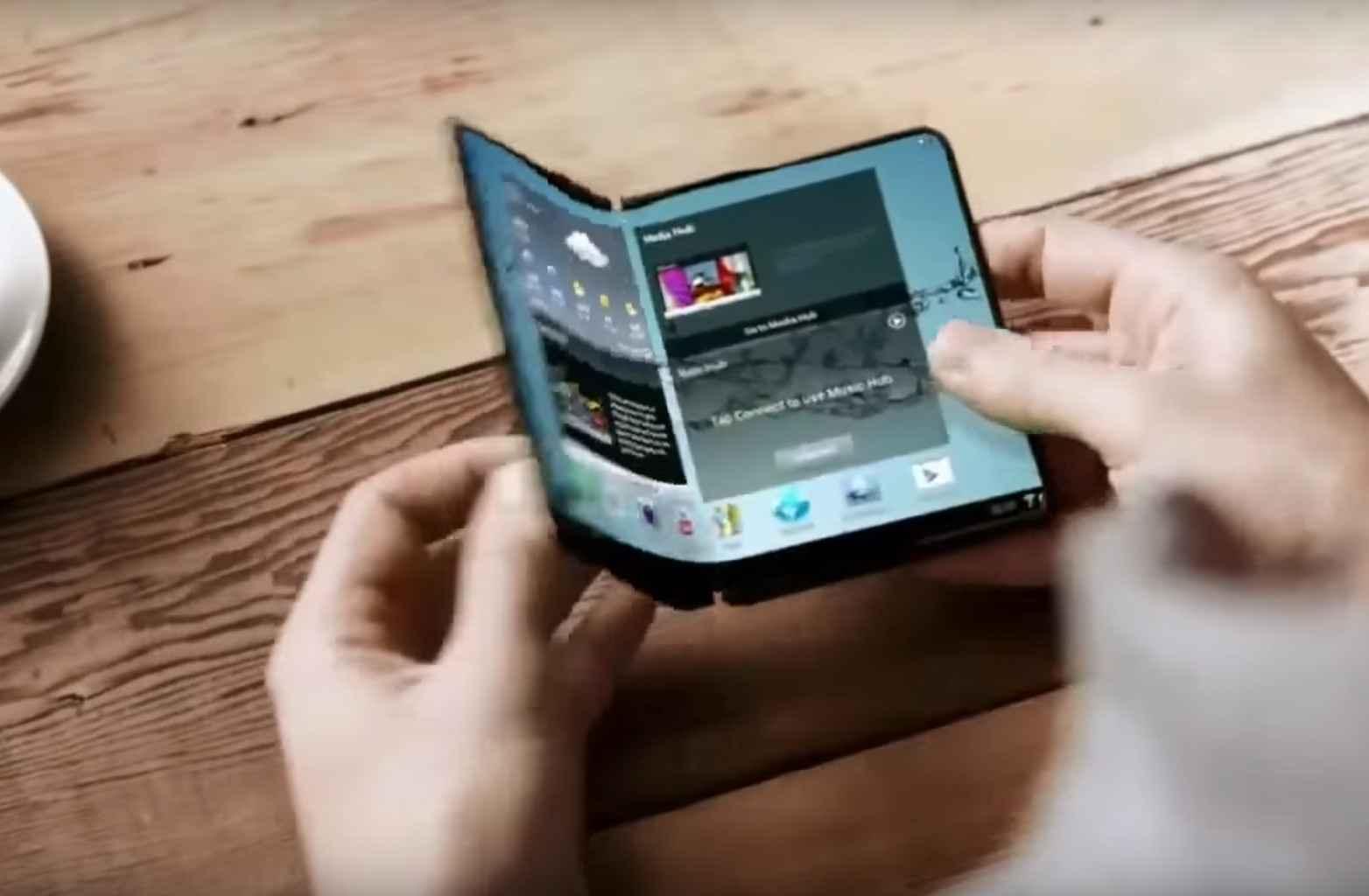 Smartphones pliables : Samsung se prépare en protégeant ses technologies