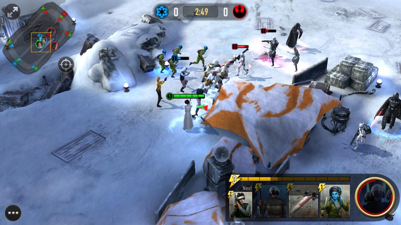 Star Wars Force Arena : un nouveau MOBA annoncé sur Android