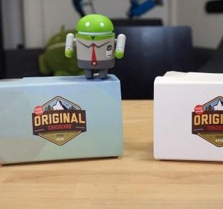 Prise en main du Original Cardboard : la version française et améliorée du Google Cardboard