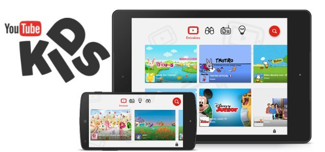 YouTube Kids est enfin disponible en France sur le Play Store